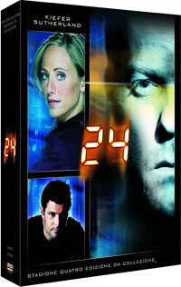 24 Stagione 4 in DVD