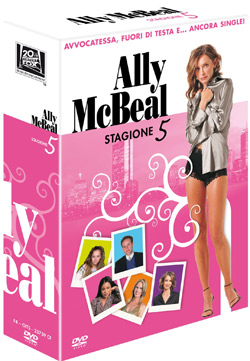 Ally McBeal stagione 5 in DVD