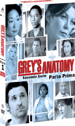 Greys' Anatomy Seconda Stagione Prima Parte in DVD