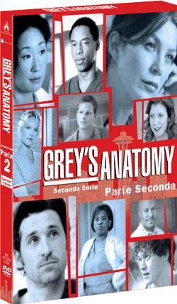 Grey's Anatomy Seconda Stagione Seconda Parte in DVD