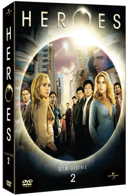 Heroes Stagione 2 in DVD