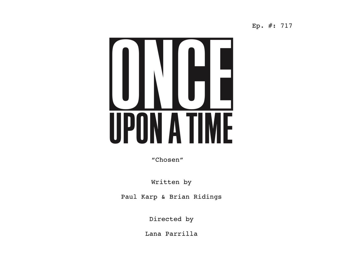 C'era una volta- Once upon a time