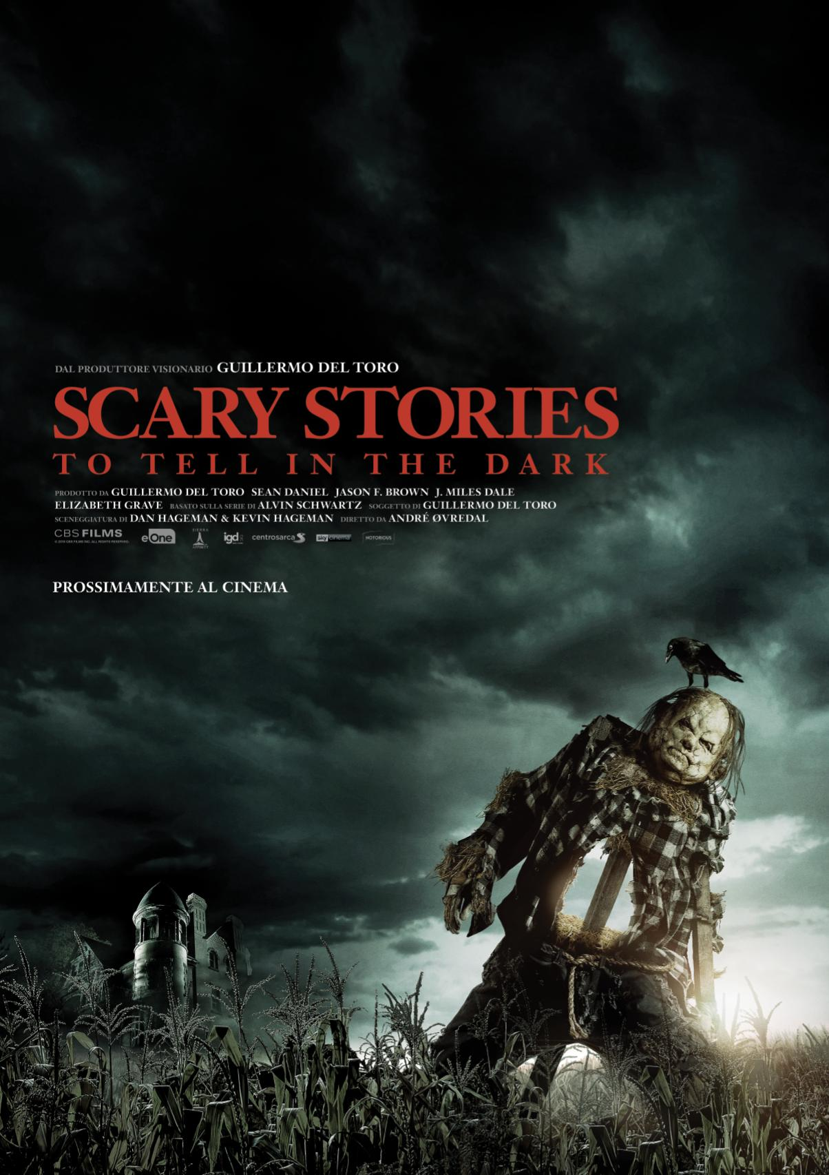 SCARY STORIES TO TELL IN THE DARK prodotto da GUILLERMO DEL TORO