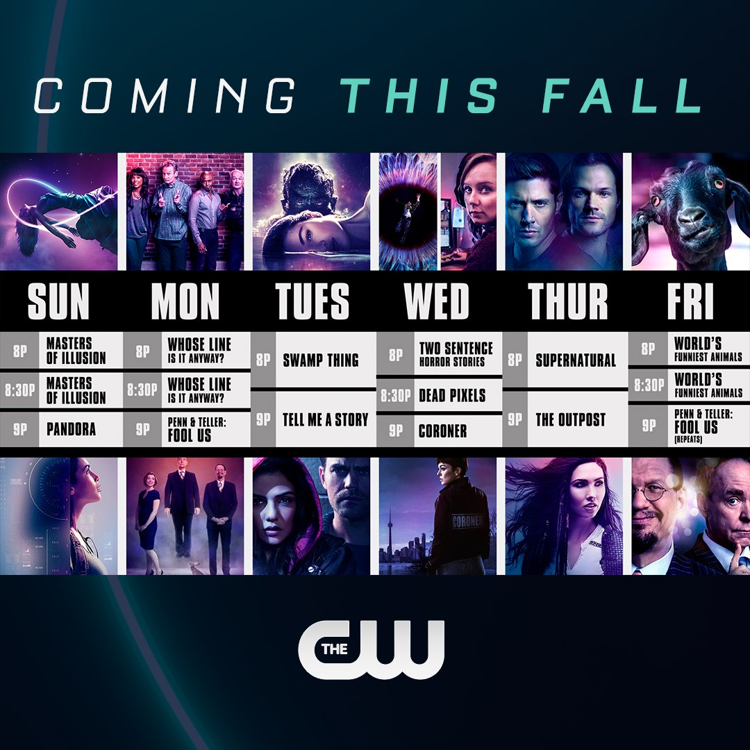 The CW Fall 2020
