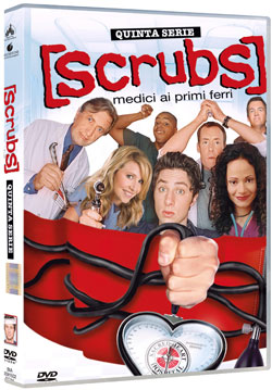 Scrubs quinta stagione in DVD