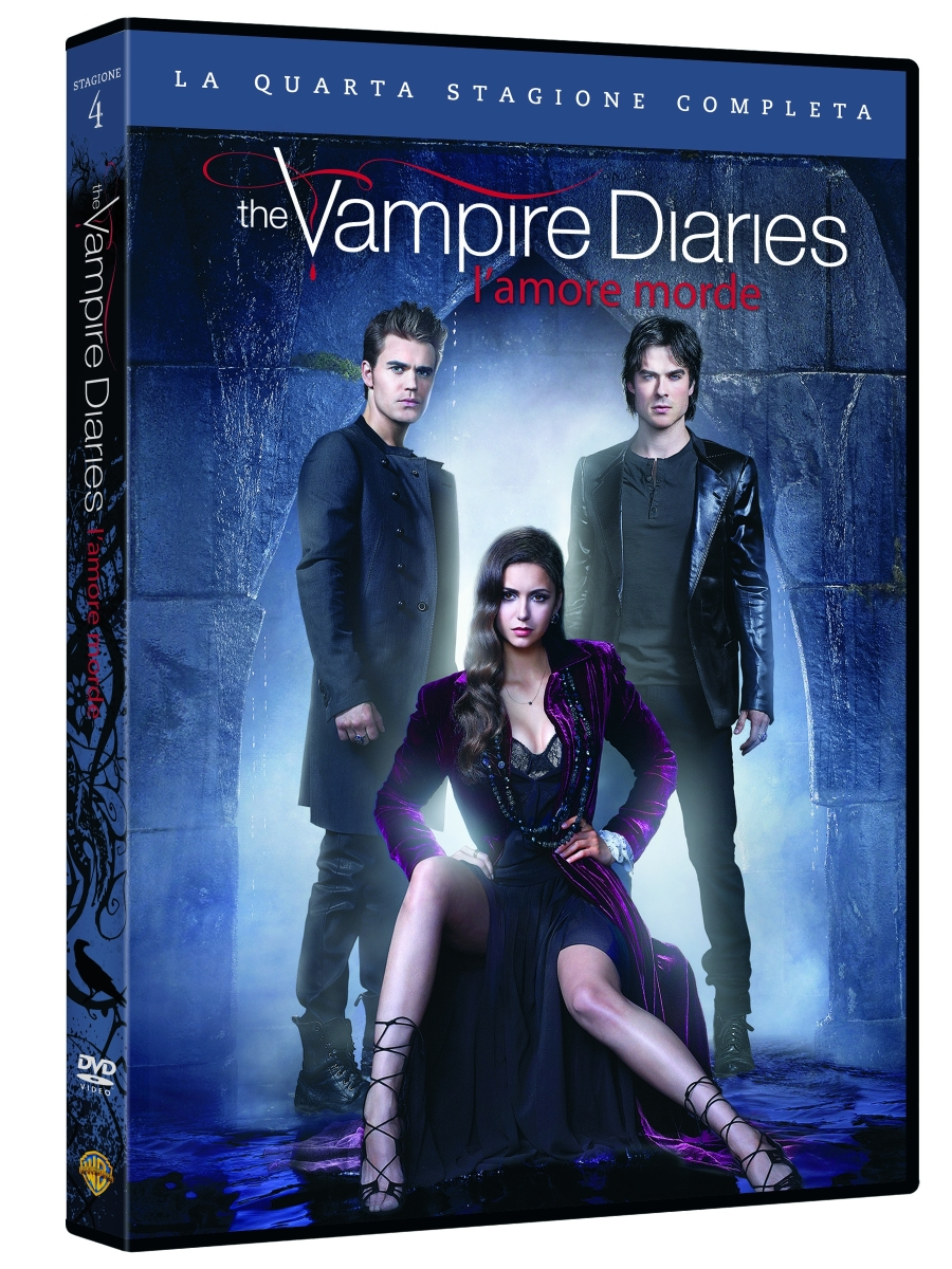 The Vampire Diaries dvd stagione 4