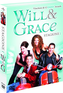 Will & Grace Stagione 1 in DVD