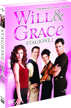 Will & Grace Stagione 2 in DVD